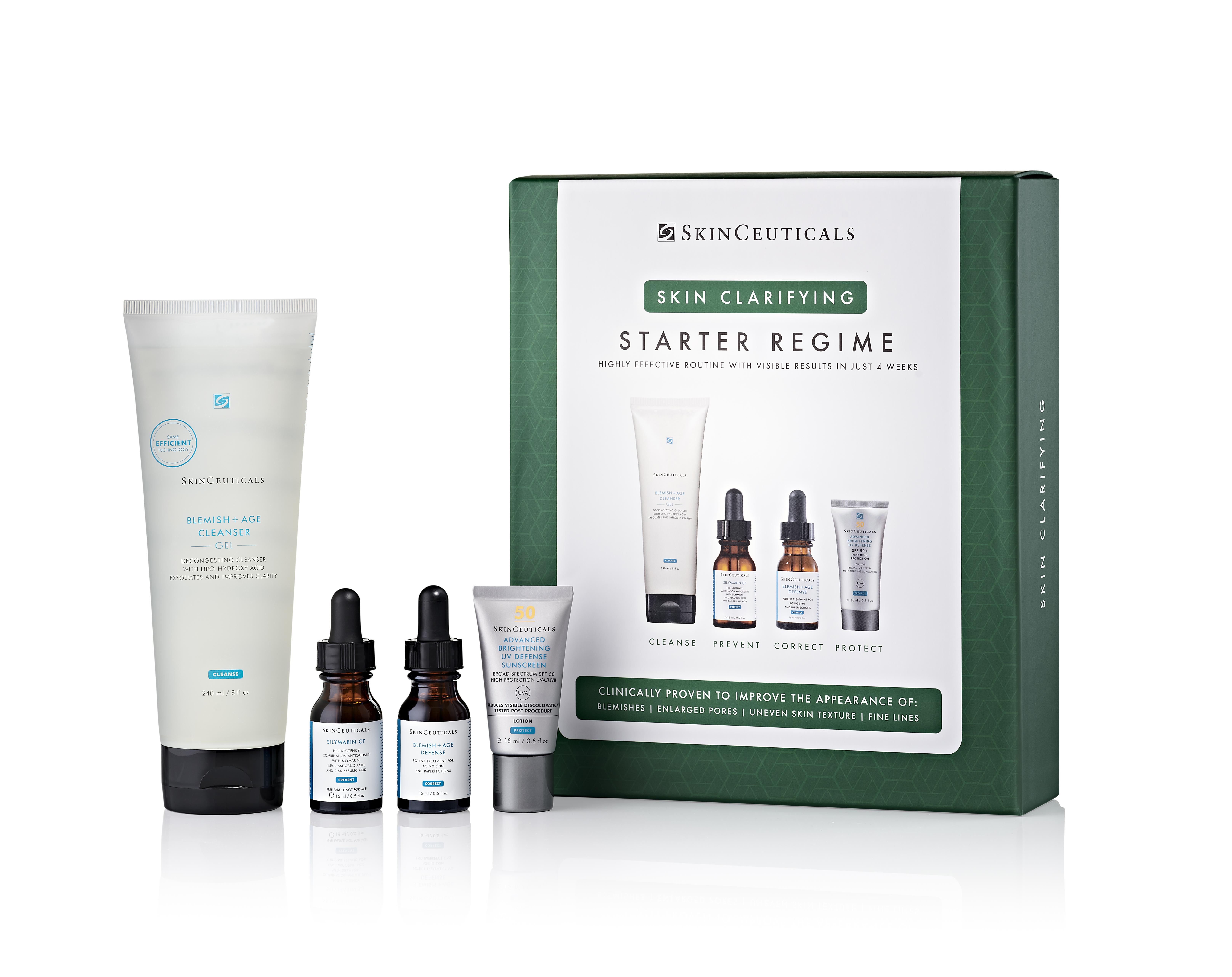 Skin Clarifying Starter Kit for Oily & Blemish Prone Skin