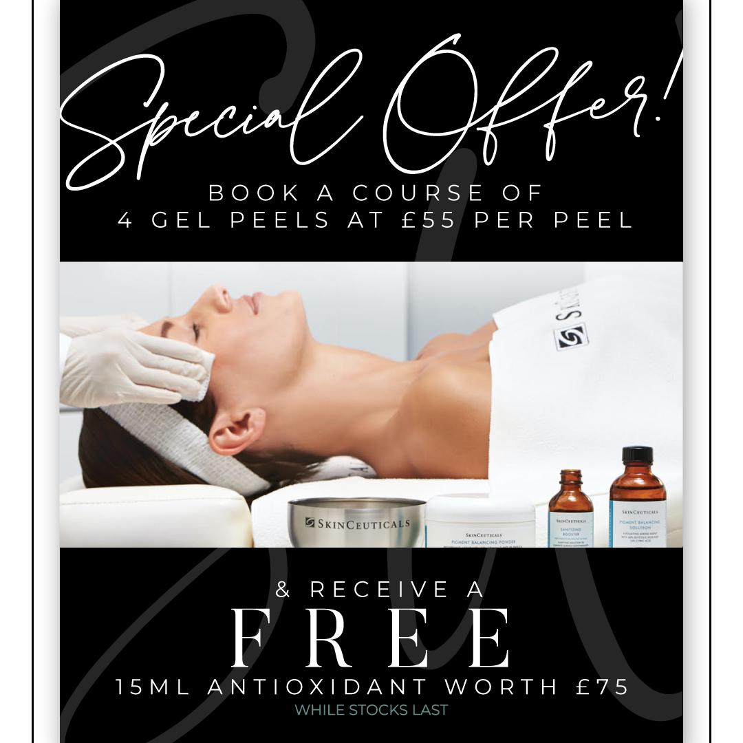 SkinCeuticals Gel Peel Course + Free Antioxidant Worth £75