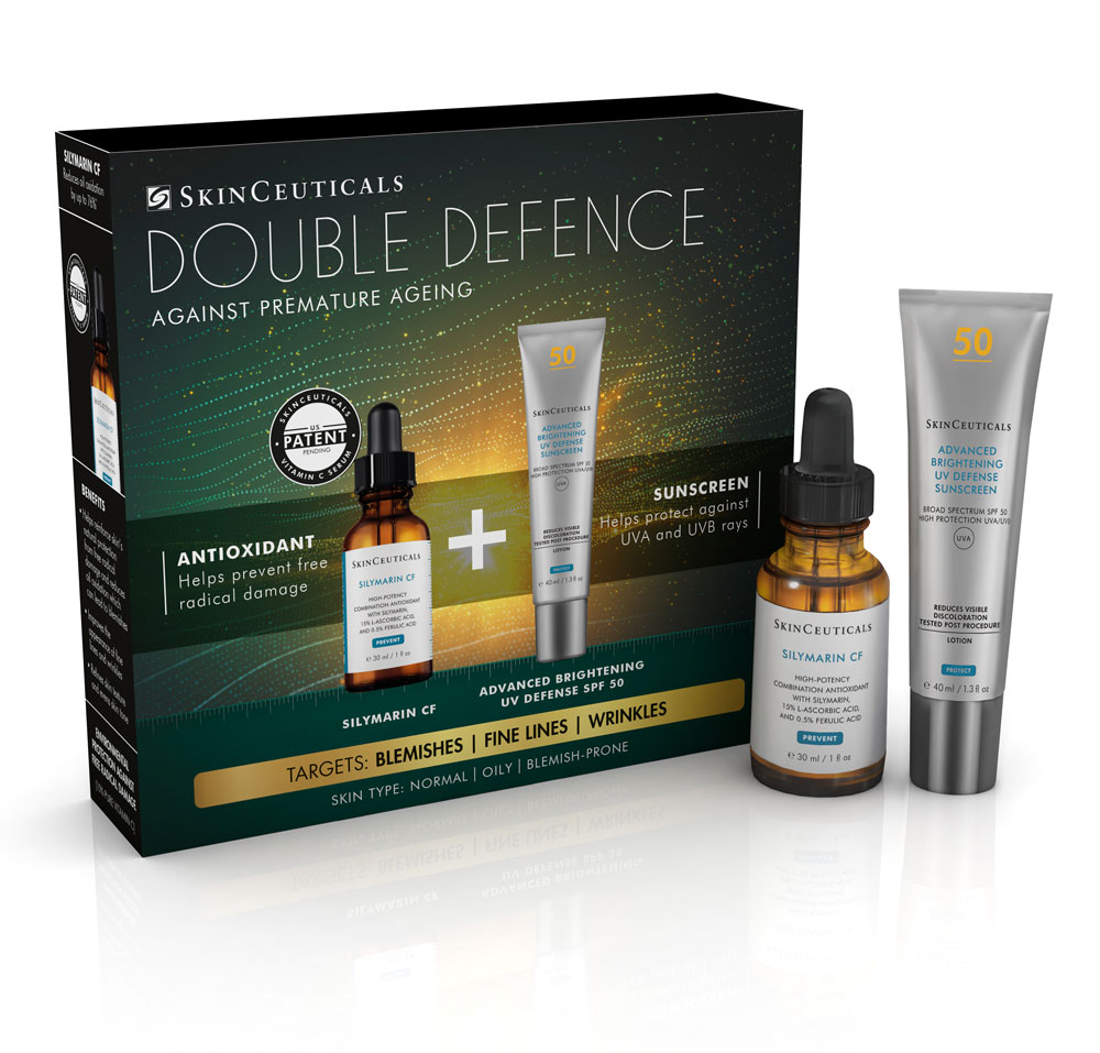 Double Defence Silymarin CF Kit for Oily and Blemish-Prone Skin